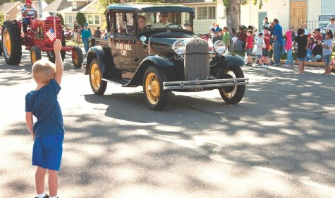 Now remodeled, you can see the Model A in parades and parked in front of Silver Grill in the summer.