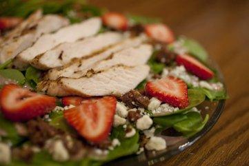 Strawberry Spinich Salad