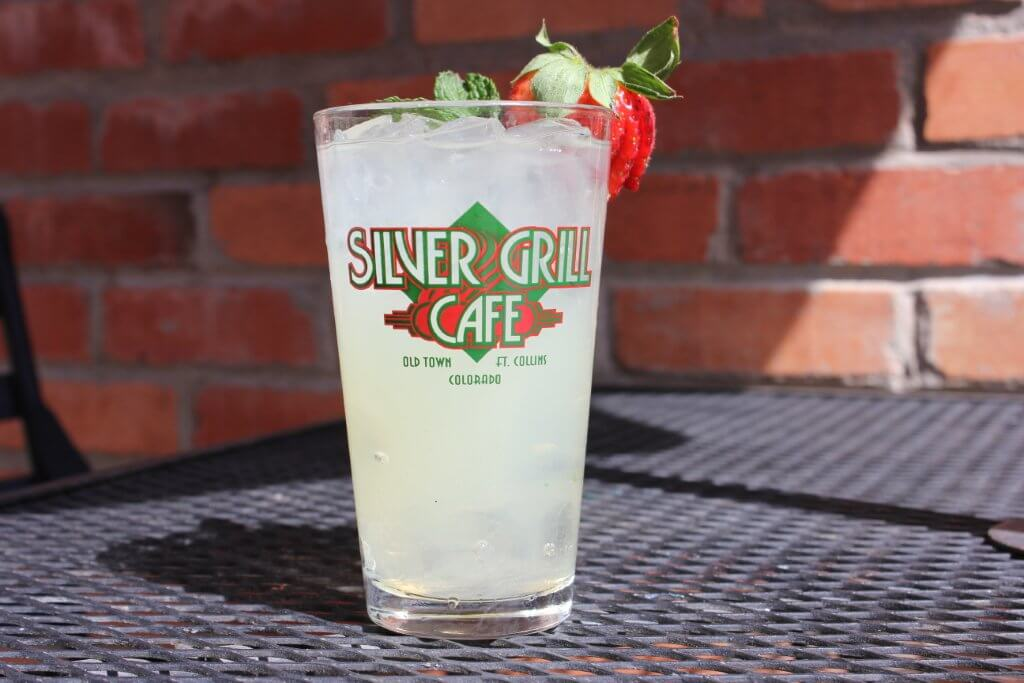 Silver Grill Pint Glass