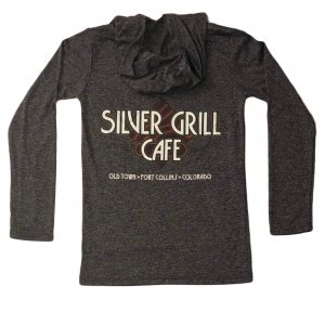 Silver Grill Grey Hoodie
