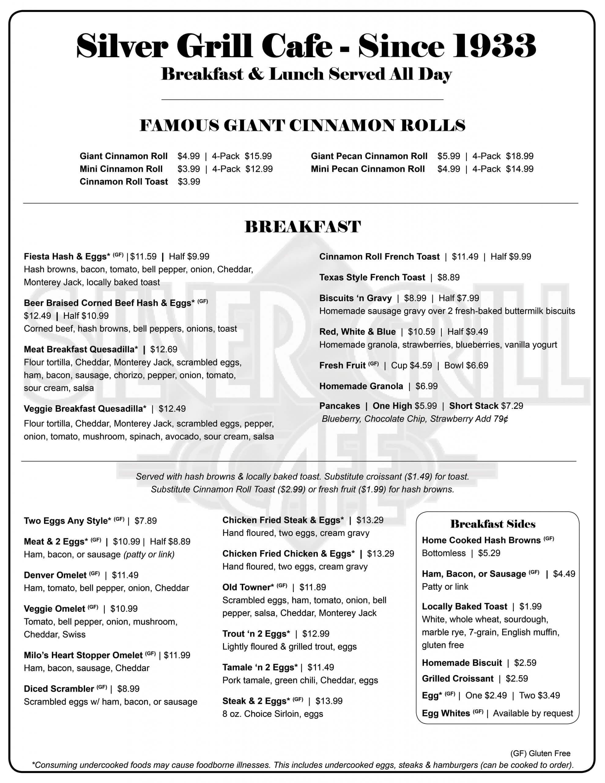 FULL MENU JUNE 2021 Update Page 1